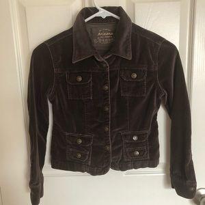 Girls Arizona Velour Jacket